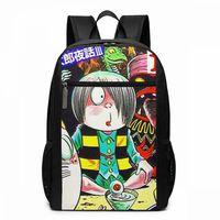 Gegege No Kitaro Backpack GeGeGe Yokai Manga Tribute Backpacks Men Women Student Bag Shopper Print High quality Bags