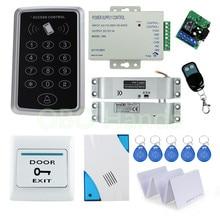 Бесконтактные Индуктивные Системы Контроля Доступа, RFID Карты Клавиатуры комплект для Близости Замок Двери системы