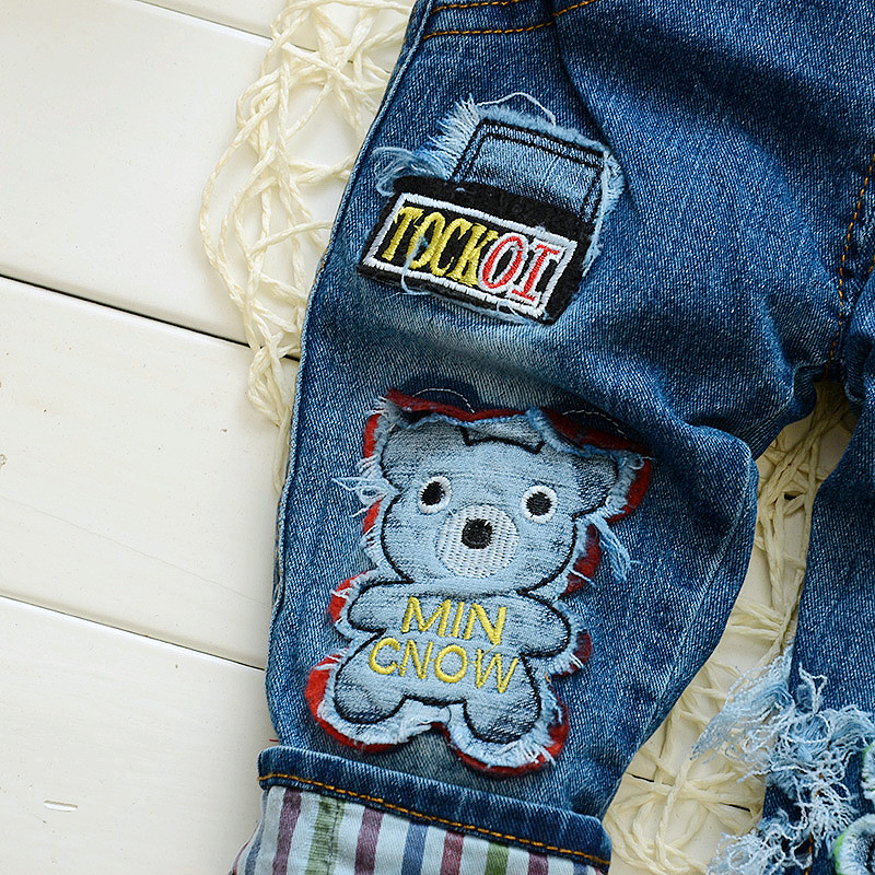 0d924c8ccc99 BibiCola baby boys denim spring autumn pants infant jumpsuit toddle kids  overalls jeans clothes bebe pants clothing boys clothes-in Pants from  Mother   Kids ...