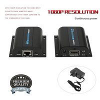 1080P HD 3D IR HDMI Extender Adapter HDMI Sender Receiver With Single LAN RJ45 CAT5e CAT6 7 60M Cable For TV For PS3/4