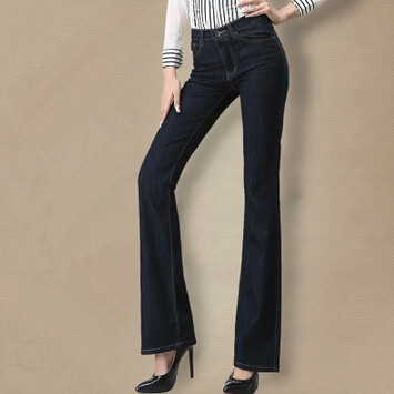 ФОТО New Spring women jeans pants Fashion female jeans trousers Slim jeans woman high-waist jeans denim pants