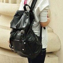 Бесплатная доставка Камера горячих женщин рюкзак PU рюкзак путешествия мешок компьютера женщина мужчина дважды плечо случайные мешок школы