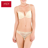 Woman's Bra and Briefs or String Set Lace White Push Up Gell Cup 70 75 80 A B C D ARDI Free Delivery MB5403