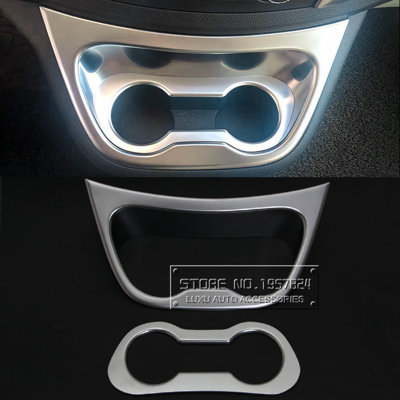 DEE Car ABS Accessories for Mercedes-Benz VITO 2016 Interior Water Glass Frame Trim Strip Chrome Brilliant Plate Stickers
