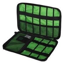 جديد العالمي المنظمون الإلكترونية السفر حقيبة التخزين ل الحبل USB كابلات فلاش حملة سماعة قوة البنك