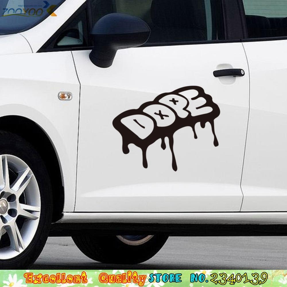 Cool car sticker design - Funny Dope Pouring Car Sticker Diy Car Decoration Decals Home Mural Art Vinyl Pvc Bar Shop