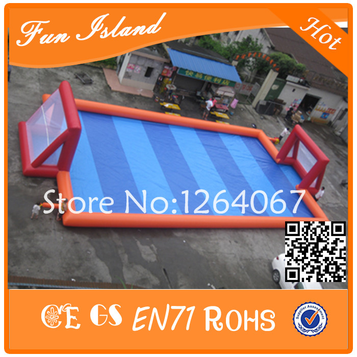 Free Shipping Inflatable Soccer Field/Football Court,Arena,Inflatable Football Pitch With Low Price free shipping ce certificated inflatable football pitch inflatable soccer court soapy stadium for sale