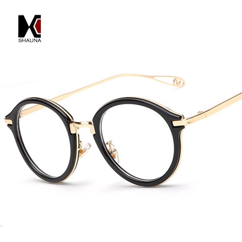 SHAUNA Vintage Marcos de Los Vidrios Mujeres Moda Gafas con Lentes ...