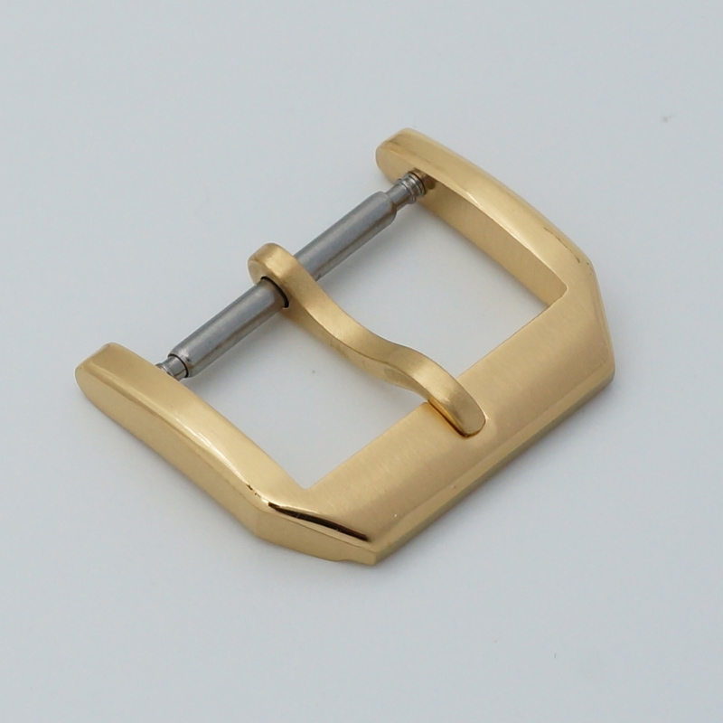 MAIKES Nyt 18mm 20mm guldurspænde læderurbånd 316L rustfrit stål - Tilbehør til ure - Foto 3