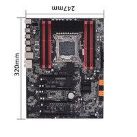 Новая настольная материнская плата X79Z V161 EATX ECC LGA2011 SATA 3,0 USB 3,0 портов DDR3 128 Гб Объем памяти компьютерная материнская плата
