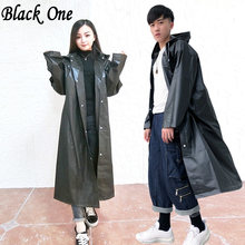 Women Raincoat Men Black Rain Clothes covers Impermeable Rainwear Capa de chuva chubasquero Poncho Waterproof Hooded Rain Coat(China)
