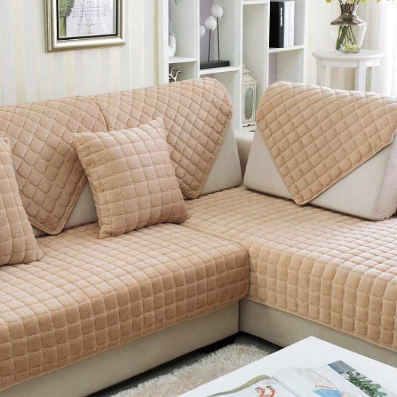 Couch Covers Sofa Cover Quilted Twill