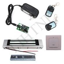 180 キログラム 350Lbs 315 mhz ワイヤレスリモコン磁気ロックと 2 リモートハンドルワイヤレス終了ボタン 3 メートルケーブル