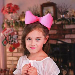 "Image 3 - 20 pcs 8 ""머리 리본 클립 부티크 grosgrain 리본 큰 큰 bowknot 바람개비 머리띠 아기 소녀 청소년 유아 어린이"