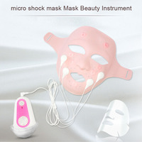 Free Shipping Smart massage beauty mask micro shock mask Mask Beauty Instrument Remote control operation