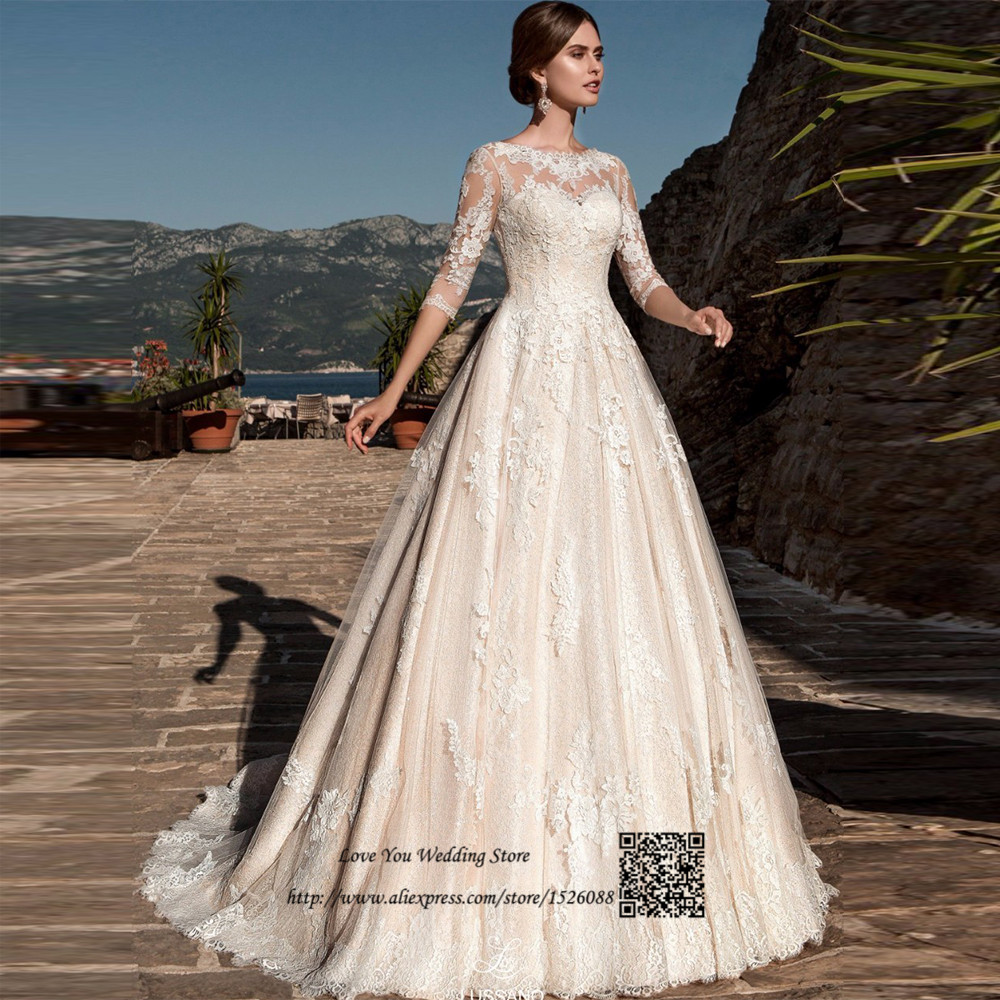 2017 arab country western wedding dresses turkey lace for Country western wedding dresses