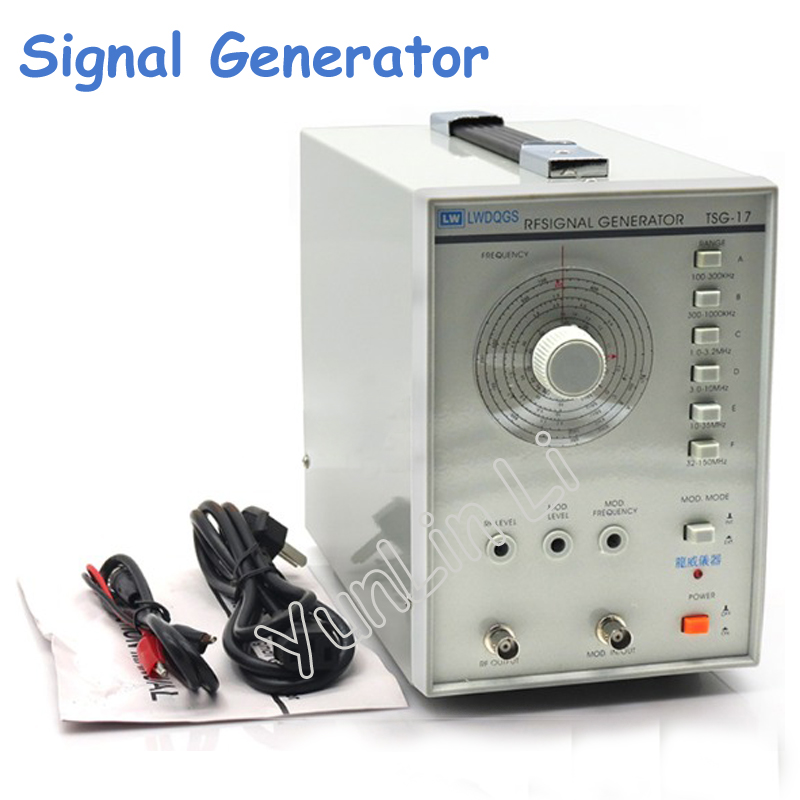High Frequency Signal Generator 100KHZ to 150MHZ Signal Frequency TSG-17 high frequency signal generator 100khz to 150mhz signal frequency
