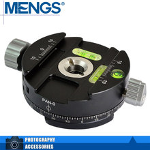 MENGS PAN-0 360 Degree Rotating 3/8″ Screw Head Camera Tripod Panning Clip Clamp(14120001901)
