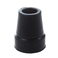 "Black Rubber Skid Resistant Cane Pad Crutch Tip NHBR- 19mm 3/4""(China)"
