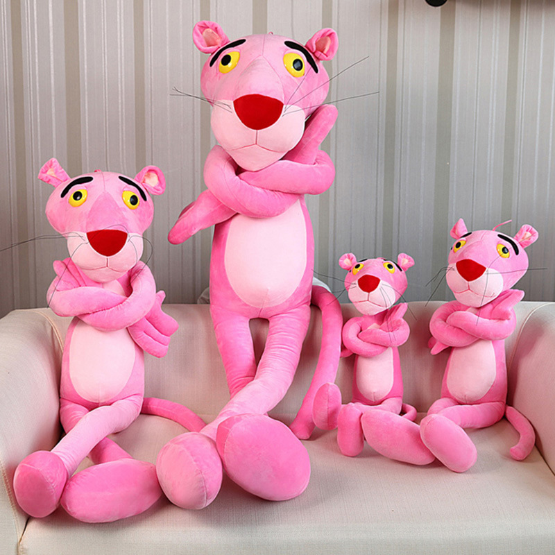 50cm/70cm/90cm Pink Panther NICI Doll Stuffed Animals Soft Plush Toys Favor Gift For Kids baby Birthday / Christmas toy hot sale 50cm the last airbender resource appa avatar stuffed plush doll toy x mas gift kawaii plush toys unicorn