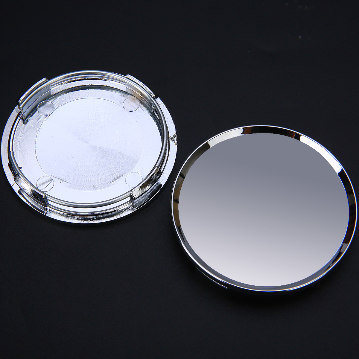 Image 5 - 4pcs/set Universal 63mm Car Vehicle Wheel Center Hub Cap Cover Silver For Most Car Trucks Vehicles-in Wheel Center Caps from Automobiles & Motorcycles