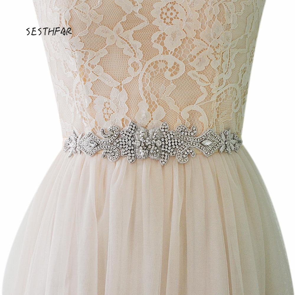 S367 Royal Medal Craft Bridal Rhinestone Belts For Dresses