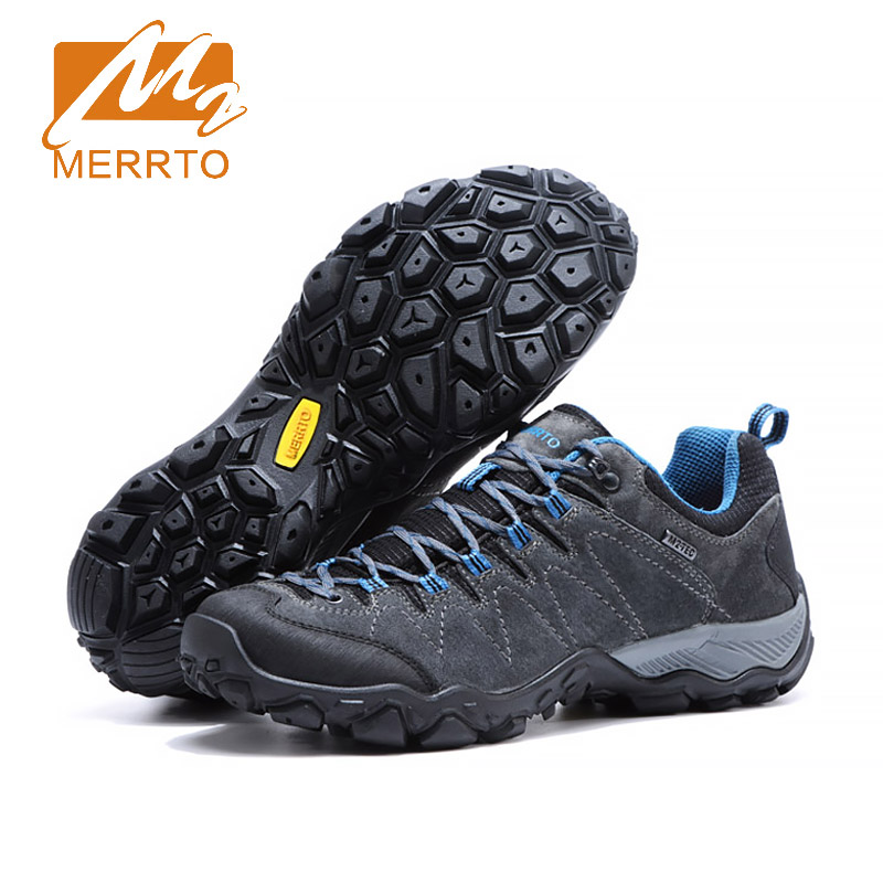 Merrto 2017 Breathable Hiking Shoes Outdoor Sneakers For Men Women Trekking Shoes Men Sports Sneakers Climbing Walking Shoes Man merrto men waterproof hiking shoes outdoor sports shoes genuine leather sneakers breathable walking mountain trekking shoes men
