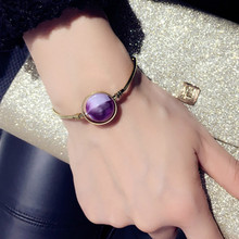 Japan and South Korea contracted atmosphere style fashion women bracelet multi-color optional