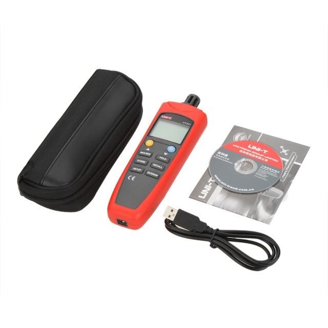 UNI-T Digital Temperature Humidity Meter UT332 UT331 Thermo-Hygrometer Thermometer Data Storage Recall USB Transfer Dew Point portable digital uni t ut332 thermometer usb data transfer humidity
