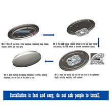 12W 18W 24W 36W Led Panel Lights 220V Round Ceiling optical lens module Lamp Board Magnetic installation of home lighting
