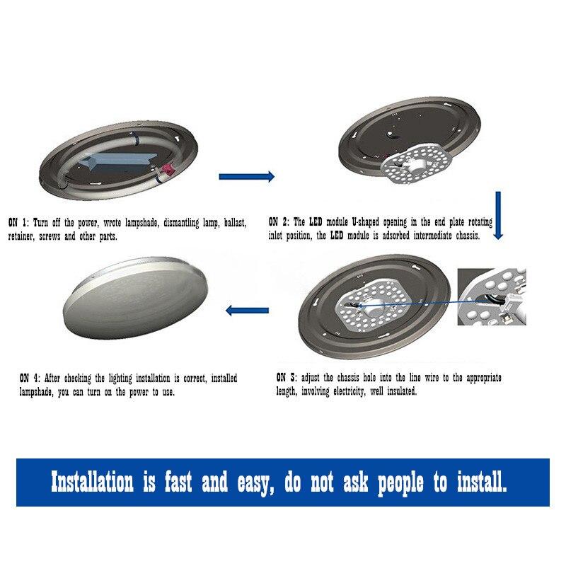 Luzes do Painel de Led de iluminação casa magnético Modelo Número : Chx-4-1