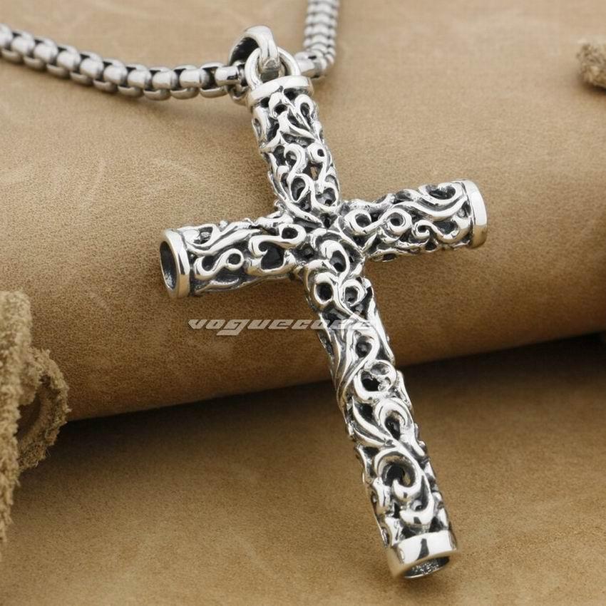 ПРОДАЖ !! LINSION Циліндр хрест 925 проби - Модні прикраси - фото 3