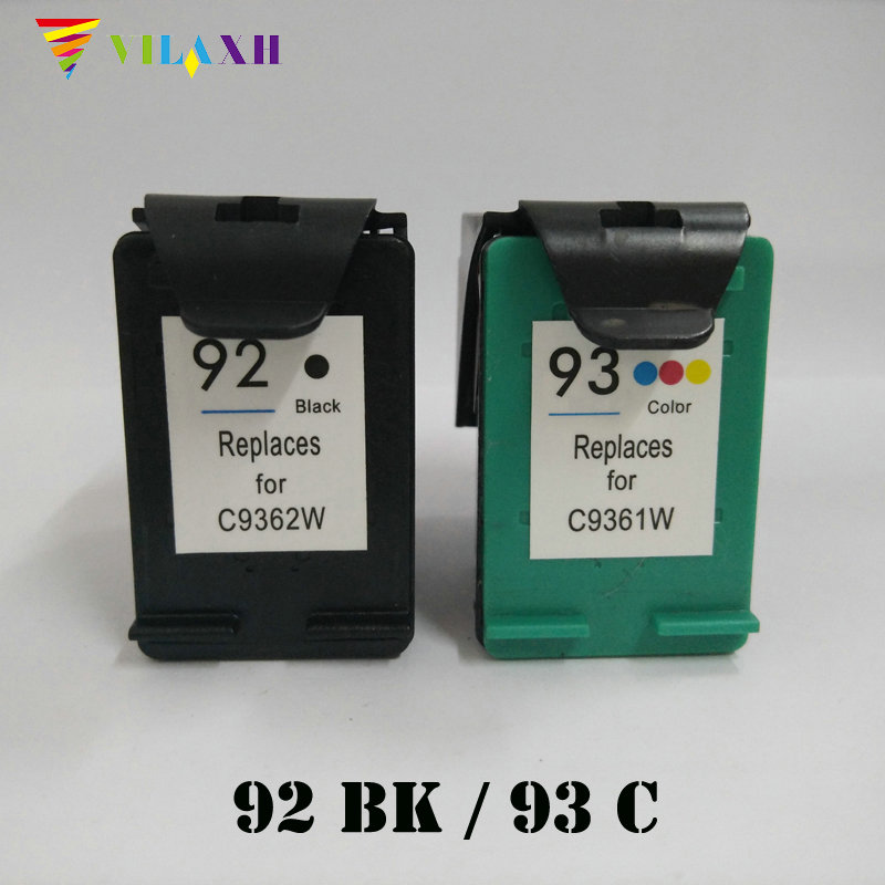 Vilaxh 92 93 Compatible Ink cartridge Replacement for HP