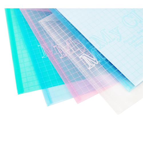 5in 1 A4 Stud Plastic Popper Files Folders Document Wallet Office Depot Study AD