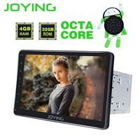 JOYING 2 Din 10 4GB RAM 8 Core Car Radio Android 8 0 GPS Navigation Car