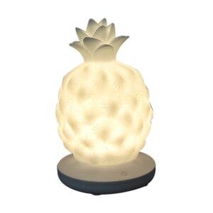 Cartoon Desk Lamp Led Night Light Funny Pineapple Design Table Lamp Creative Gift For Friend Children Baby Room Light Ornament Desk Lamps     -