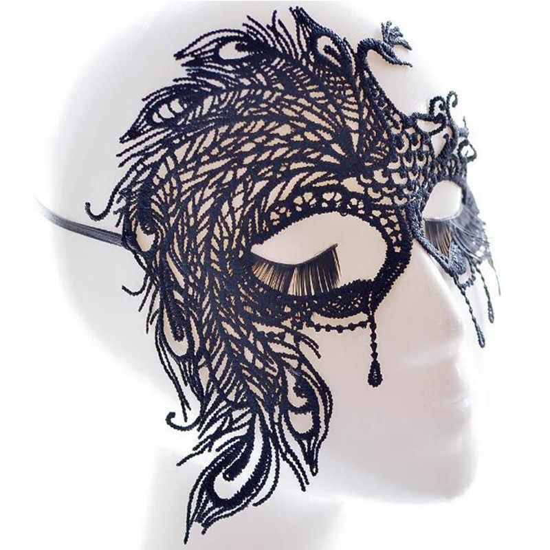 New Hot Sale Explosion Fashion Retro Ladies Sex Sexy Lace Mask Theme Dance Party Accessories
