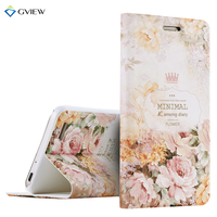 High Quality 3D Relief Print PU Leather Flip Cover Case For Huawei GR3 Enjoy 5s 5