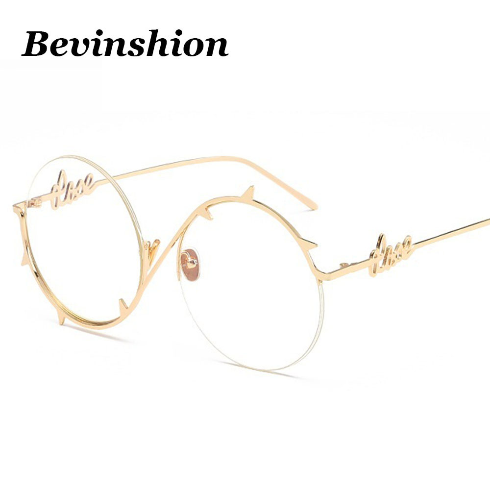 357acd3a123 Detail Feedback Questions about New 2018 Ocean Lens Color Round Sunglasses  Women Rivet Thorns Harajuku Style Cool Pink Blue Brand Sun Glasses Vintage  ...