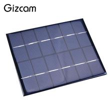 Portable DC 6V 2W 330mA Epoxy Sunpower Solar Power Panel DIY Module For Cell Phone Battery Charger Charging