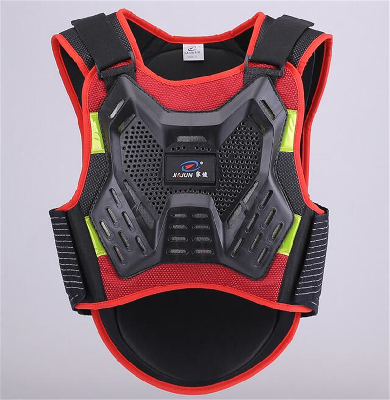 JIAJUN Adult Sport Vest Ski Back Support Motorcycle Protective Gear Cross-Country Clothing Cycling