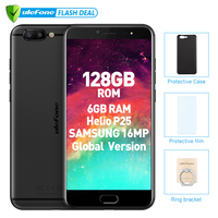 Ulefone T1 Premium Edition 6GB+128GB 5.5 FHD Helio P25 Octa Core Mobile Phone Android 7.0 Fingerprint 4G Global version