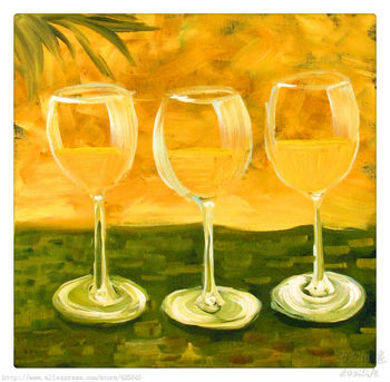 Still Life Oil painting on canvas hight Quality Hand-painted Painting Wineglass