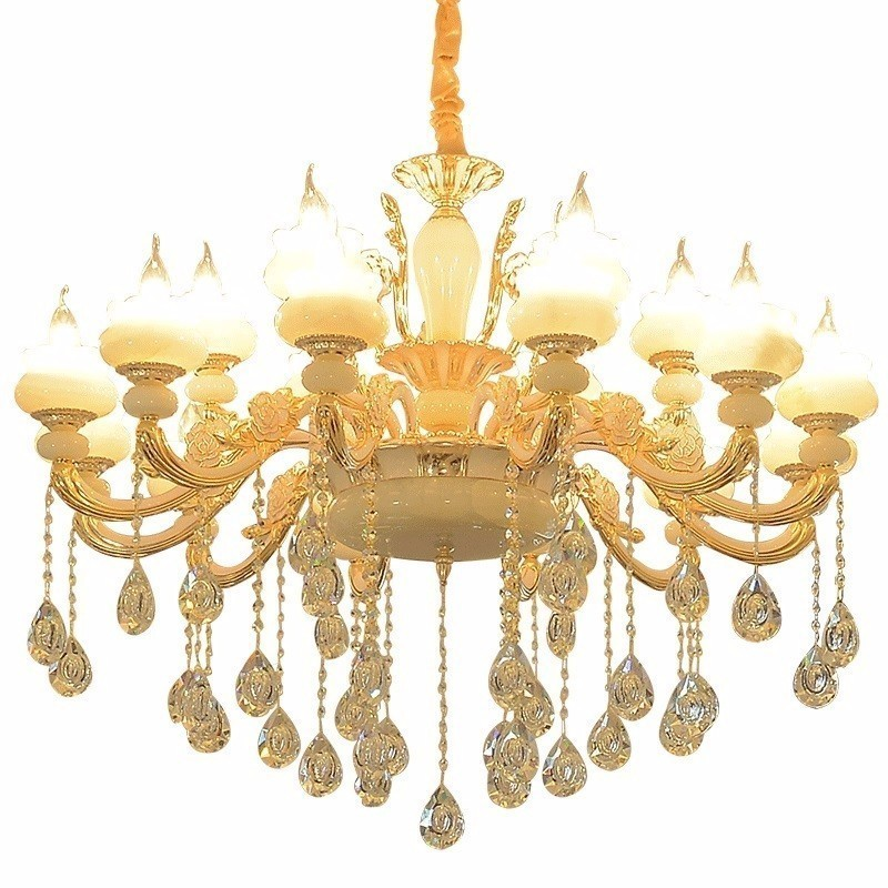 Luz carne Hanglampen Nordic Lustre Pendente de Cristal Casa Deco Gantung Maison Lampen Lampara Colgante Moderna Lâmpada Pendurada