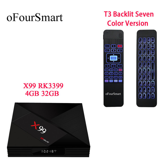 android 7.1 tv box rk3399