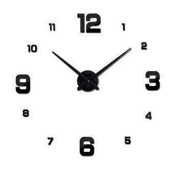 特別提供アクリルミラー壁時計ヨーロッパクォーツ時計静物時計リビングルームのクロック家の装飾 diy のステッカー