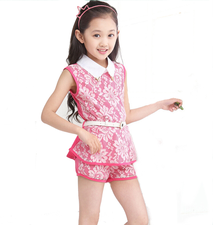 Aliexpress.com : Buy Girls Clothes Sets Summer Clothing Sets For ...