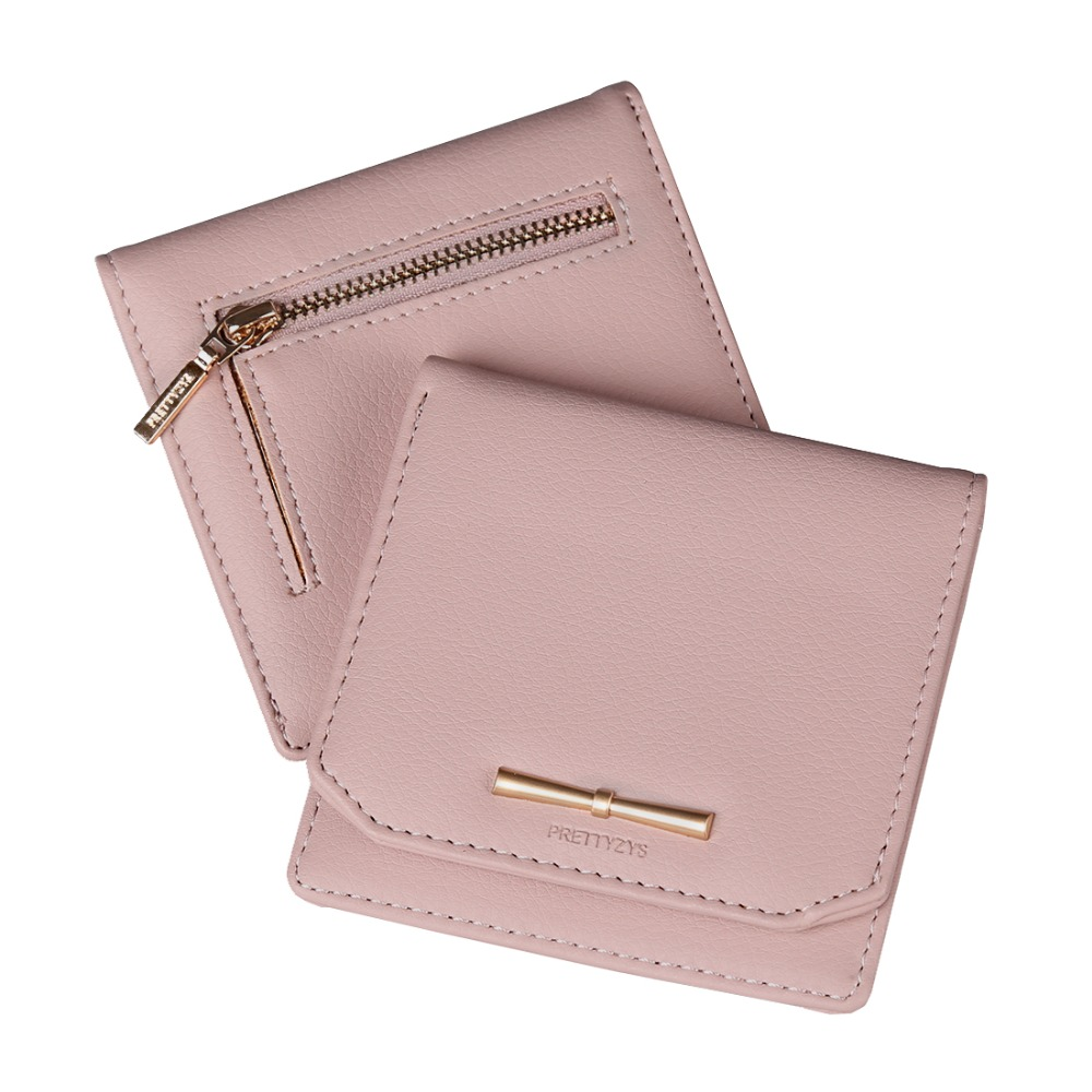 Women Lovely Leather Wallet Zipper Coin Card Holder Hot Female Fashion Lady Portable Small Solid Color Change Purse For Girls dollar price women cute cat small wallet zipper wallet brand designed pu leather women coin purse female wallet card holder