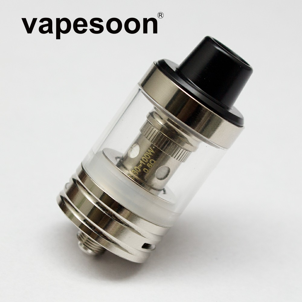 vapesoon EC-1 RTA Rebuildable Atomizer Diameter 22mm Resistance 0 5ohm  /0 3ohm Fit for 30-60 Wattage like iStick Pico 75w Mod