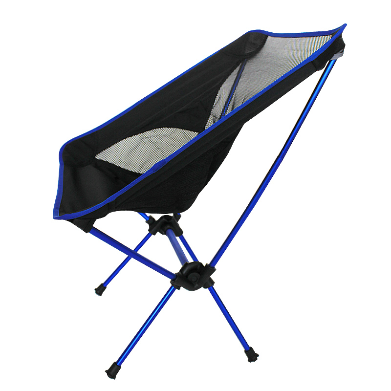 Free Shipping car Outdoor Stack Portable Foldable Stool Fishing Thickened Beach Camping Chair LOAD 145KG-in Beach Chairs from Furniture